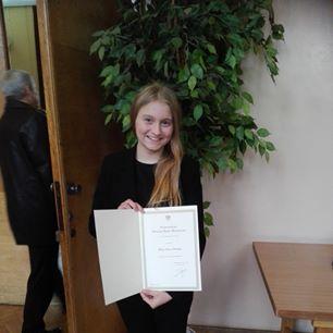 Alicja Płonka stypendystką Prezesa Rady Ministrów