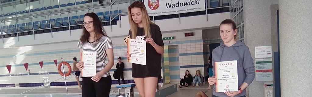Sukces Naszej Pływaczki