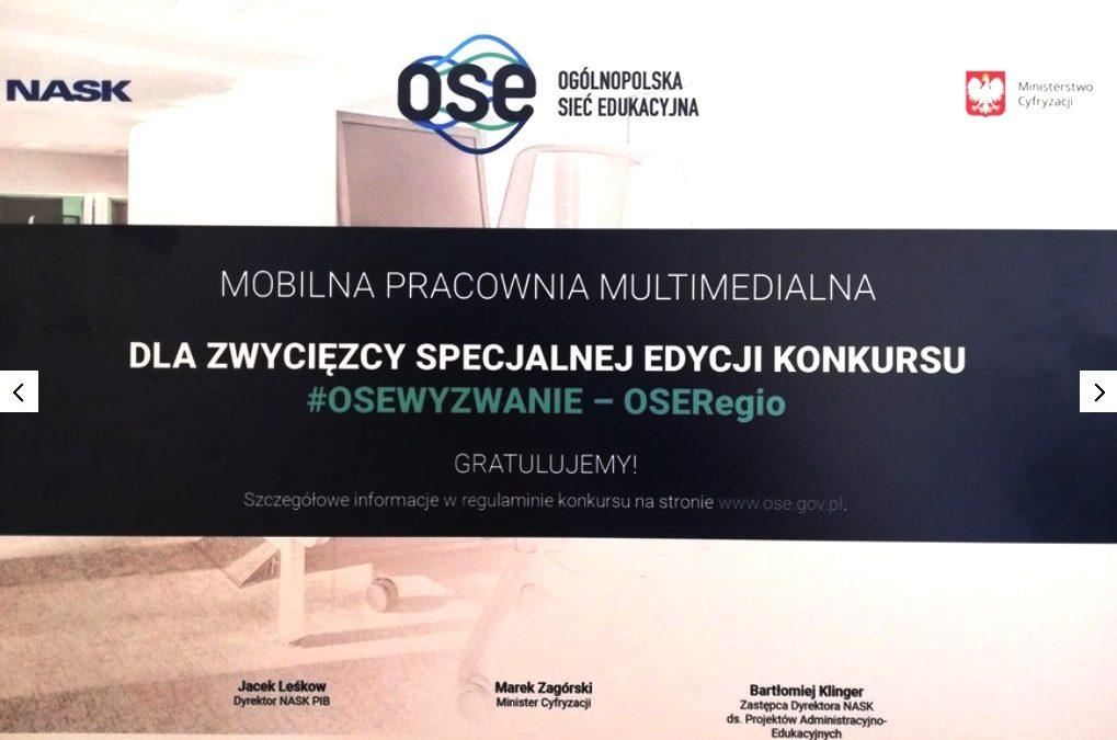 Wygraliśmy mobilną pracownię multimedialną!
